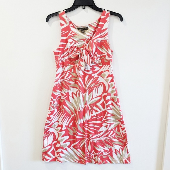 Tommy Bahama Dresses & Skirts - Tommy Bahama Coral Tropical Print Sundress XS